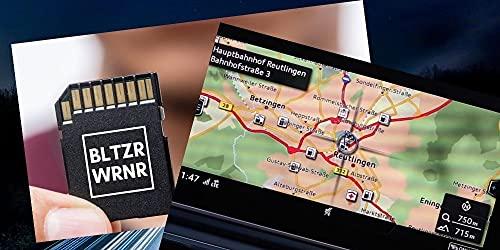 Blitzerwarner fix und fertig Paket passend für Audi MMI auf SD Karte
