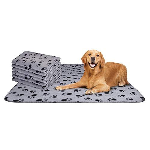 Nobleza - 6 x Hundedecke Weiche Fleecedecke Waschbare Deck für Haustier Hunde...