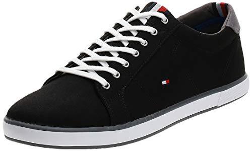 Tommy Hilfiger Herren H2285arlow_1d' Sneaker, Black 990, 43 EU