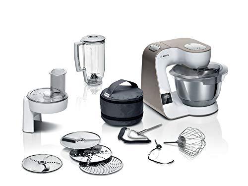 Bosch MUM5XW20 MUM 5 Küchenmaschine, integrierte Waage, große...