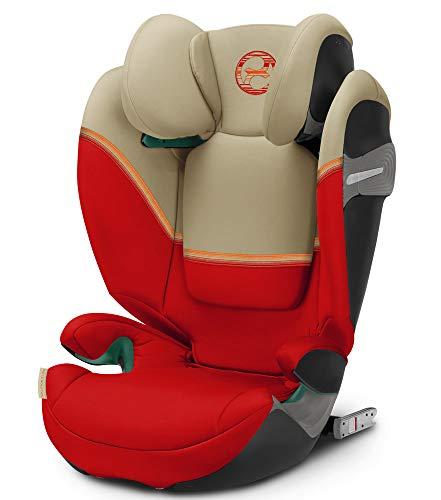Cybex Solution S i-Fix 2020 Kindersitz mit i-Size, Farbe:Autumn Gold/Burnt Red