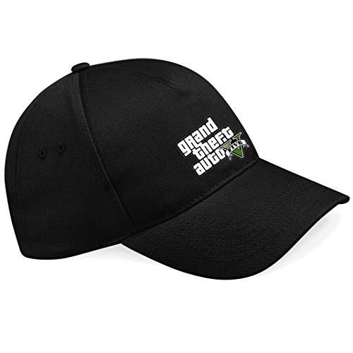 shirt19 GTA V GTA 5 Grand Theft Auto 5 Rockstar Logo Schwarze Unisex Baseball...