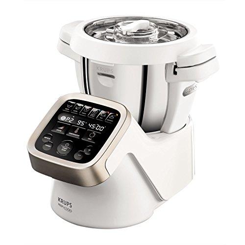 Krups Prep&Cook HP5031 Multifunktions-Küchenmaschine (1,550 Watt, bis zu 12.000...