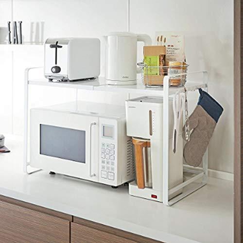 Wvfguj Kronleuchter Küchen einziehbare Mikrowelle Regal Ofenrost Etage 2...