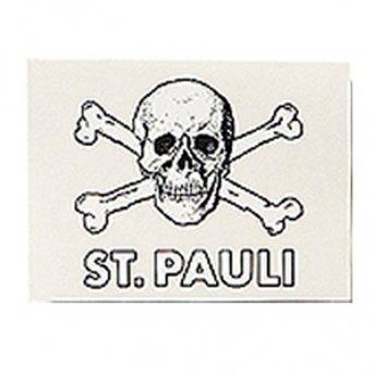 St. Pauli Aufkleber Transparent