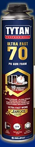 Tytan Ultra 70 870ml Pistolenschaum PU Montageschaum schnelltrocknend
