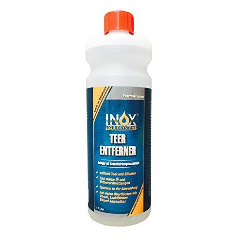 INOX® Auto Teerentferner 1L - Teerreiniger für Innenraum und Außen -...