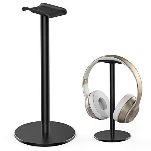 Aluminium-Kopfhörerständer/Headset-Halterung mit dickem Leder-Pad,...