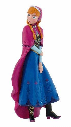 Bullyland 12960 - Spielfigur, Walt Disney Die Eiskönigin - Anna, ca. 9,5 cm...