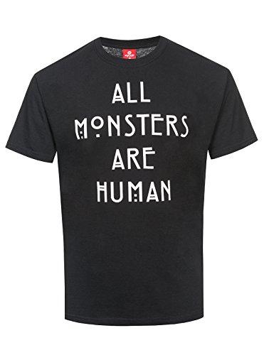American Horror Story All Monsters Are Human Männer T-Shirt schwarz M