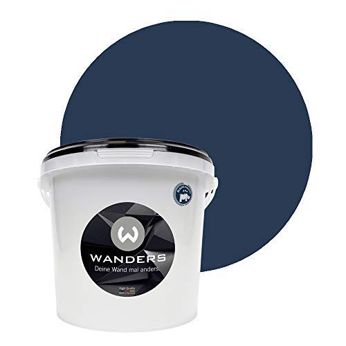 Wanders24 Tafelfarbe (3Liter, Mitternachtsblau) Blackboard Paint - Tafellack -...