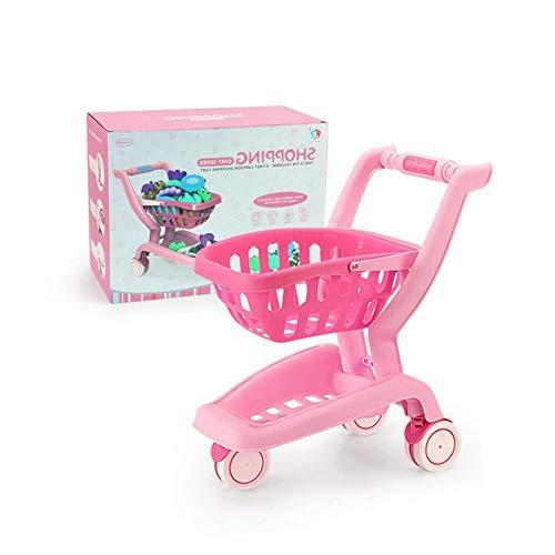 Kinderwagen Spielzeug Supermarkt Trolley Baby Mini Küche Vortäuschen,...