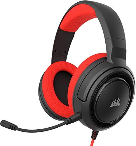 Corsair HS35 Stereo Gaming Headset (50mm Neodym Lautsprecher, Abnehmbares...