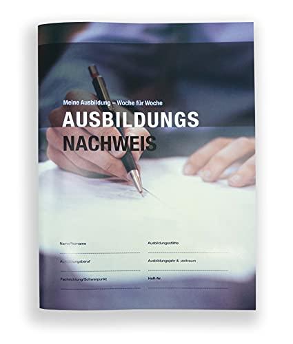 Ausbildungsnachweis Heft für duale Ausbildung/ Berichtsheft 55 Wochen (02)