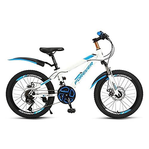 HEZHANG 24-Gang-Fahrrad, 20/22-Zoll-Hardtail-Mountainbikes Mit Einstellbarem...