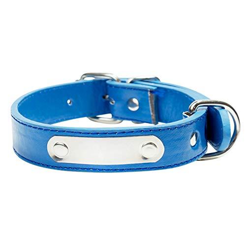 Youyababay Hundehalsband Leder Klickverschluss Weich Lederhalsband Verstellbare...