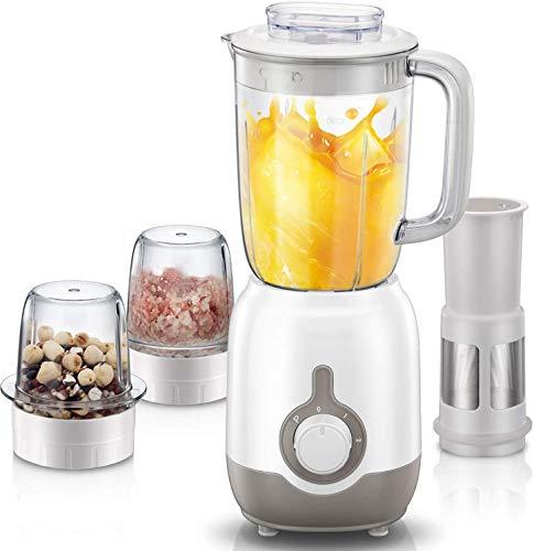 8bayfa Multifunktionale Lebensmittel Blender, 3 Tassen, 8-teiliges Set, Blender...