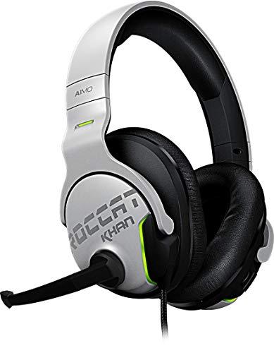 Roccat Khan Aimo 7.1 Surround Gaming Kopfhörer (Hi-Res Sound, USB, AIMO LED...