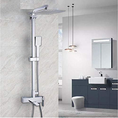 Zglizty Dusche Wasserhahn Wandmontage Messing Dusche Wasserhahn Badezimmer...