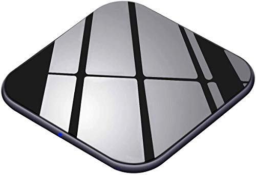 Wireless Charger 15W Handy Schnellladegerät [USB C, Ultra Dünn] Qi Ladestation...