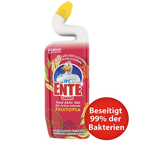 WC-Ente Total Aktiv Gel Fruitopia, Rot, 750 ml