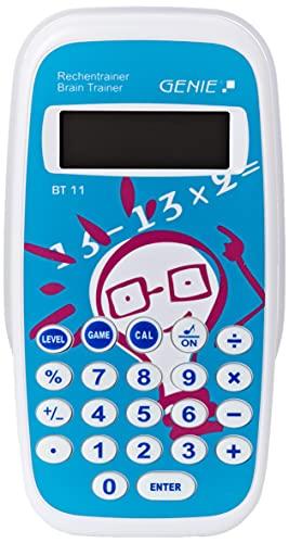 Genie BT11 Rechentrainer (Lernspiel, Mathe lernen durch ca. 300.000 Aufgaben,...