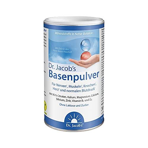 Dr. Jacob's Basenpulver auf Citratbasis I mit über 30 Gesundheitswirkungen I...