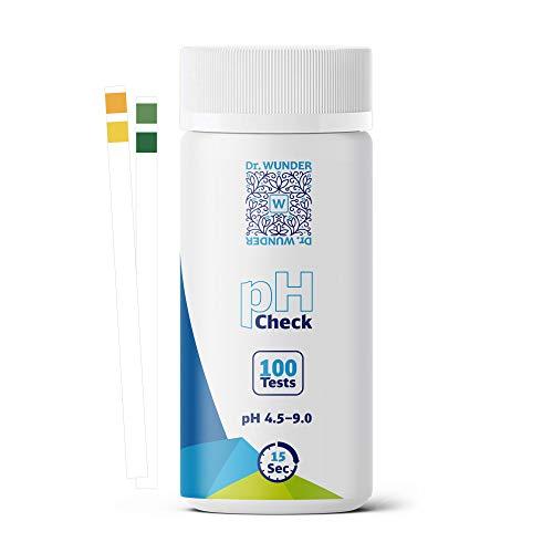 Dr. Wunder® pH-Check: 100 hochwertige Teststreifen  bestens geeignet für die...
