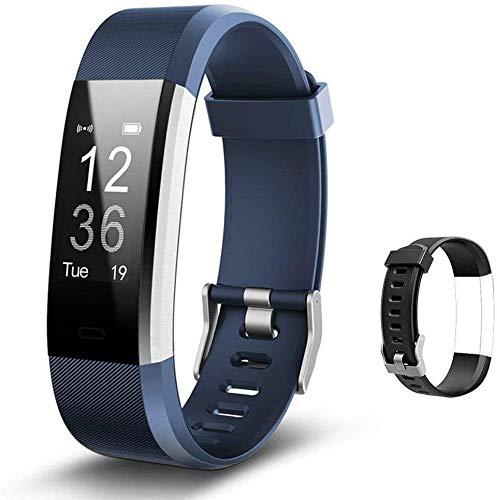 Lintelek Fitness Armband Herzfrequenzmesser Fitness Tracker Plus HR Sport Uhr...