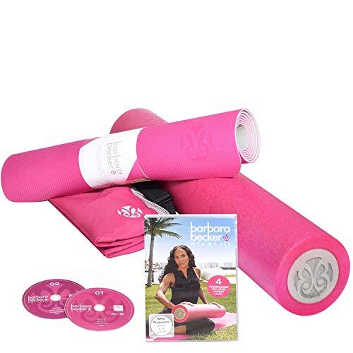 Barbara Becker Fitness-Set Fitness DVD | Miami Fit | Faszienrolle | Foamrolle |...
