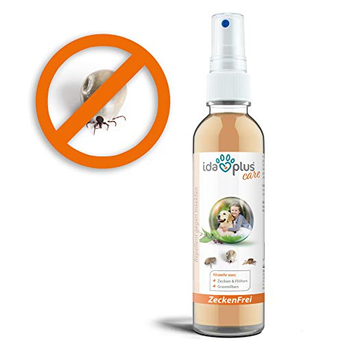 Ida Plus – Zeckenfrei 200 ml – Zeckenspray gegen Zecken, Mücken, Flöhen,...