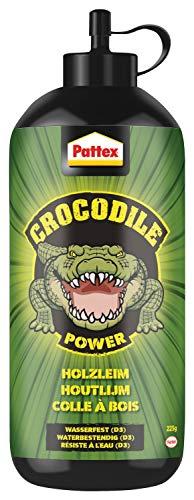 Pattex Crocodile Power Holzleim, leistungsstarker Holzkleber für Innen und...
