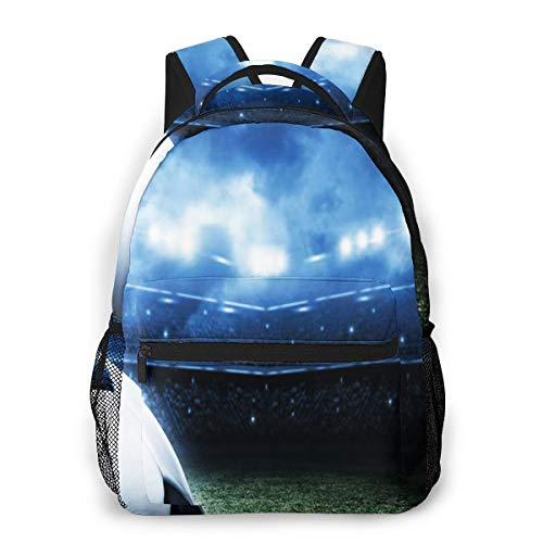 Laptop Rucksack Schulrucksack Fußball Fußball 038, 14 Zoll Reise Daypack...