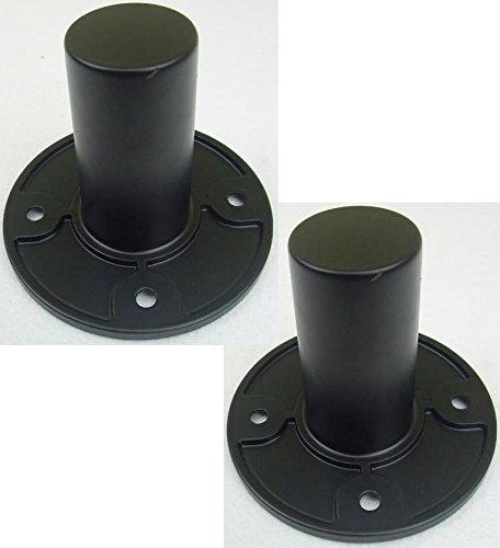 2x ADAM HALL SM702 Boxenflansch 35 mm SM 702 - Stativhülsen für...