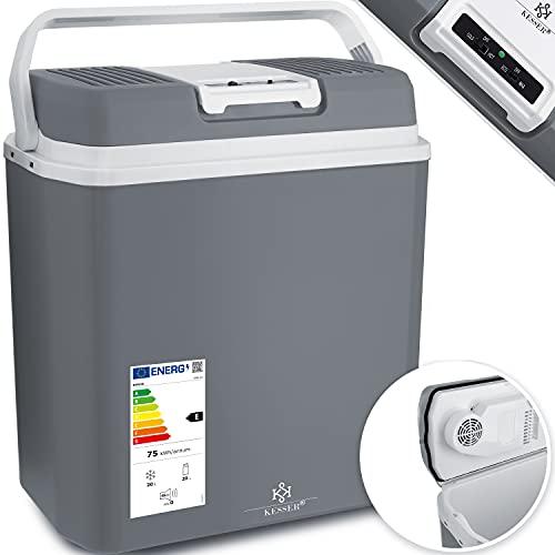 KESSER® 24 Liter Kühlbox   KÜHLT und WÄRMT   Thermo-Elektrische Kühlbox 12...