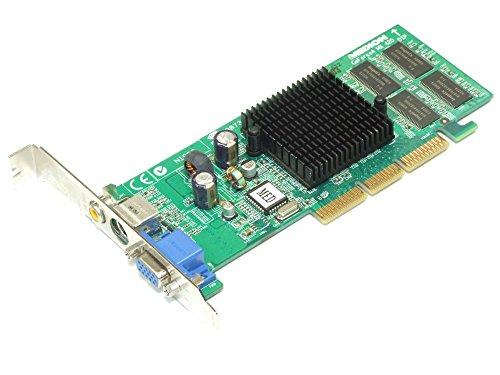 MSI MX440SES-T Nvidia GeForce 4 64MB DDR AGP VGA Video AV-Out Cinch Grafikkarte...