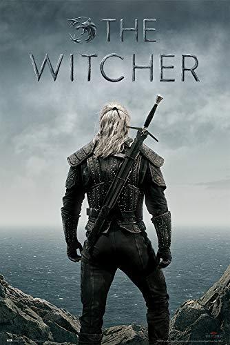 Grupo Erik Poster The Witcher Backwards Offizielles Netflix - Merchandising,...