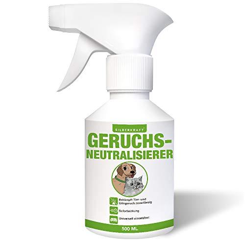 Silberkraft Geruchsneutralisierer 500 ml, Spray Hund Katze Nager gegen...