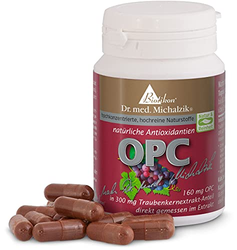 OPC nach Dr. med. Michalzik - Extrakt aus Vitis vinifera mit 160 mg reinem OPC...