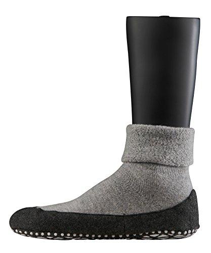 FALKE Herren Cosyshoe M HP Hausschuh-Socken, Blickdicht, Grau (Light Grey 3400),...