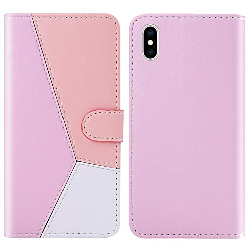 PROTECTIVECOVER+ / Compatible with for IPhone xs max tricolor näht horizontal...
