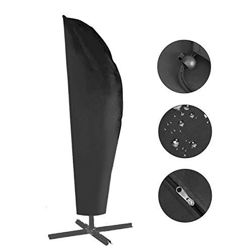 Herefun Schutzhülle für Ampelschirm - 420D Sonnenschirmhülle Abdeckhauben...
