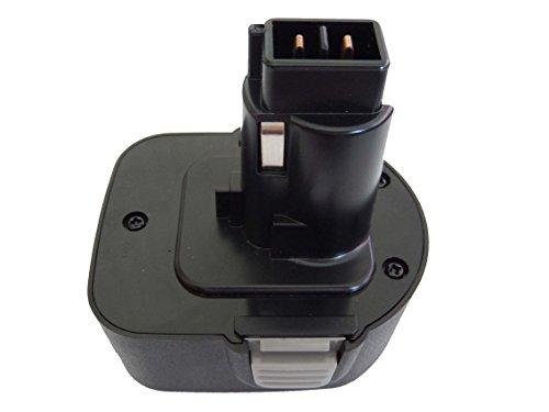 vhbw NiMH Akku 2000mAh kompatibel mit Black & Decker KC1261CN, KC1261F, KC1262C,...