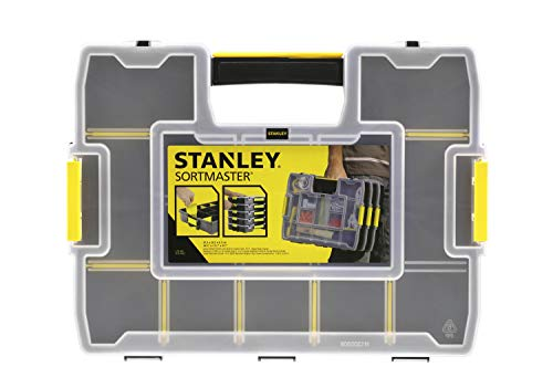 Stanley Organizer SortMaster Junior Werkzeugbox leer (Stapelbarer...
