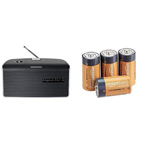 Grundig Music 60 Empfangsstarkes Radio im modernen Design grau & AmazonBasics -...