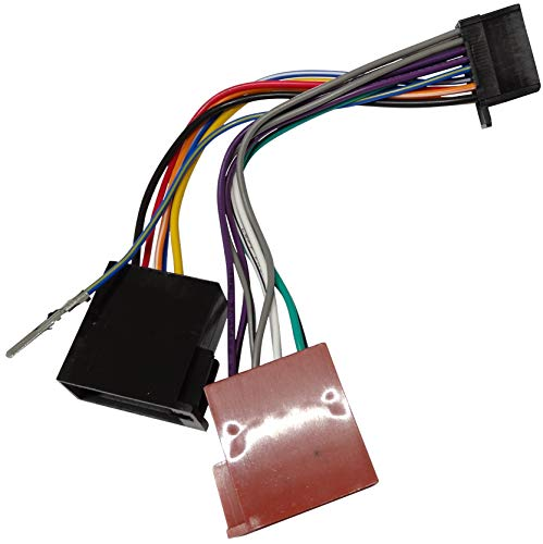 AERZETIX: Adapter Kabelbaum ISO-Stecker für Autoradio kompatibel mit KD-X141...