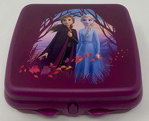 Tupper TUPPERWARE Disney Eisprinzessin ELSA Anna Frozen to Go Twin lila Mädchen...