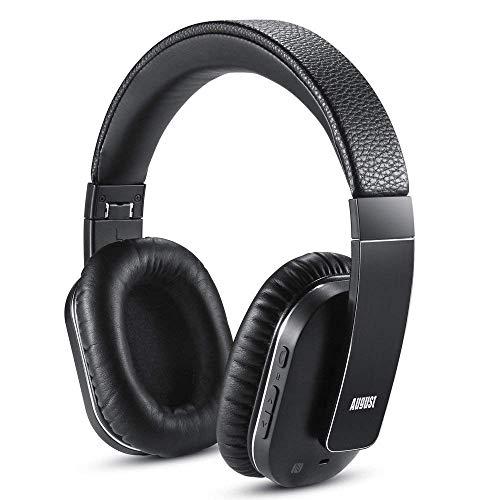 August EP750 Kabelloser Bluetooth Kopfhörer v4.1 mit Active Noise Cancelling,...