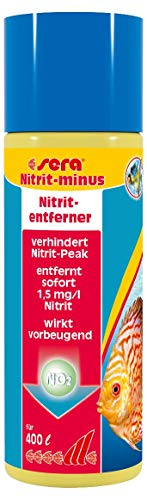 sera 32300 Nitrit-minus 100 ml entfernt pro Dosierung sofort 1, 5 mg/l Nitrit...