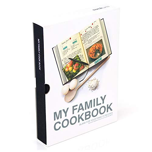Suck UK My Family Recipe Book and Cooking Journal / Kochbuch für...